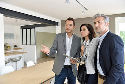 visite agent immobilier